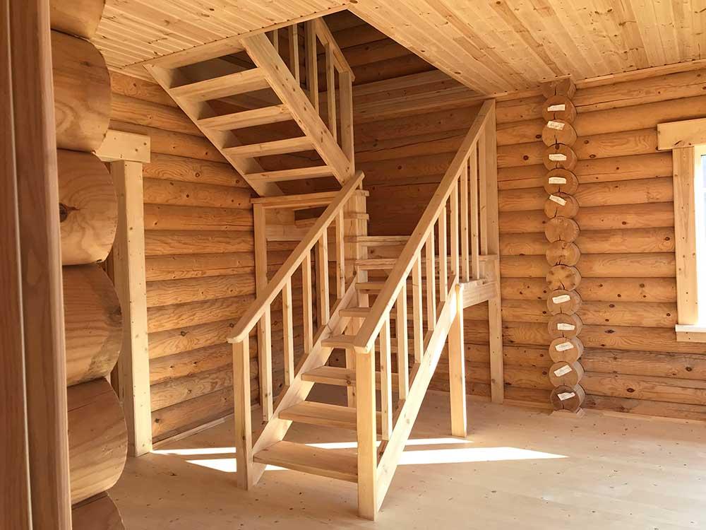 каменские холмы, поселок каменские холмы, дом деревянный внутри дом, лестница деревянная