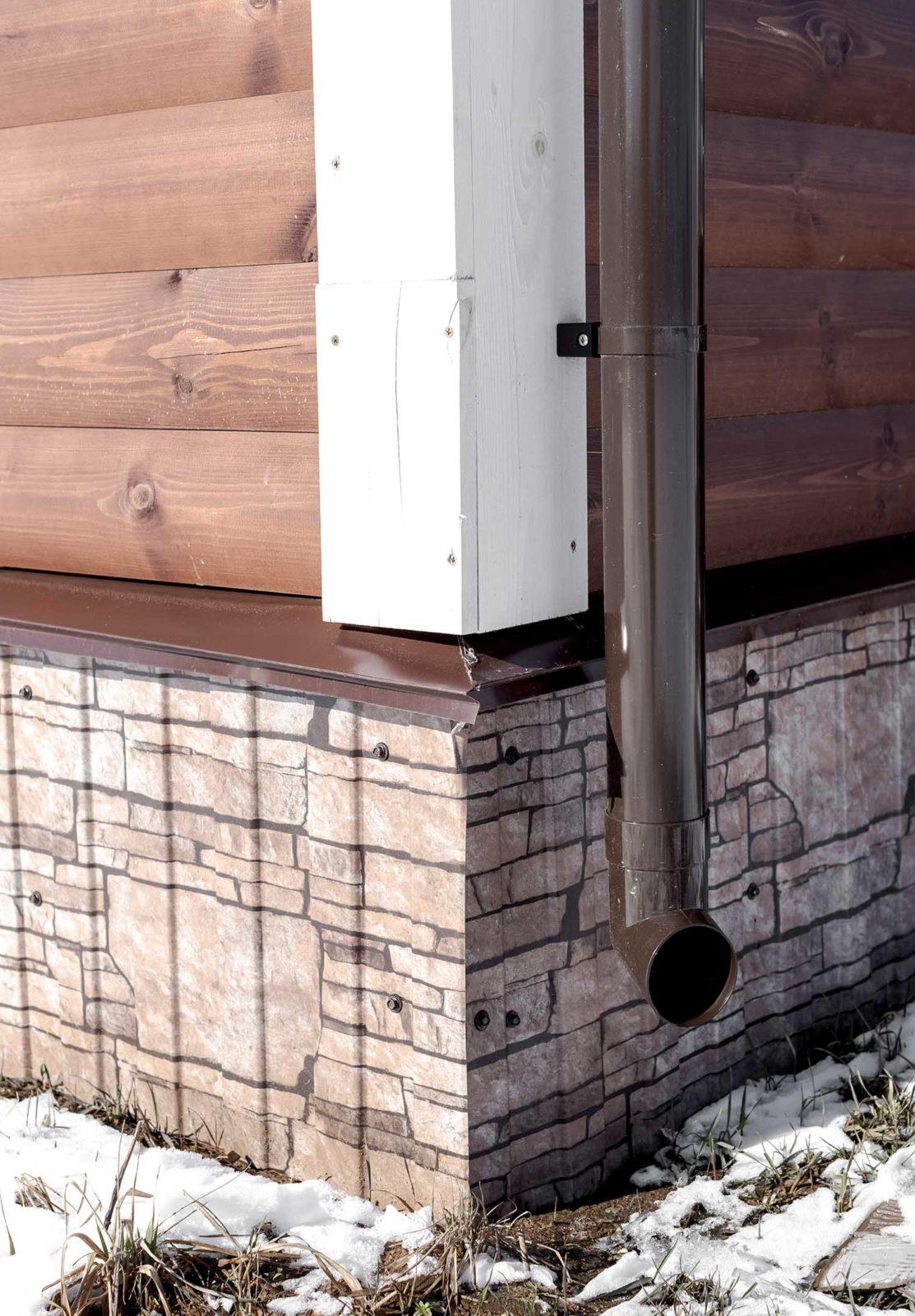 водосточная система, пластиковая водосточная система, водосточная система частного дома