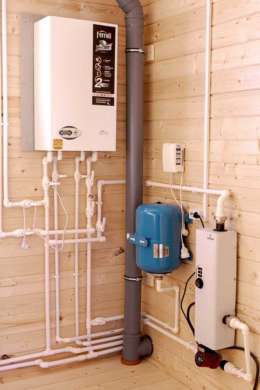 Отопление в деревянном доме: с чего начать.