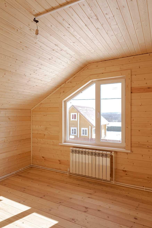 окно пластиковое деревянный дом