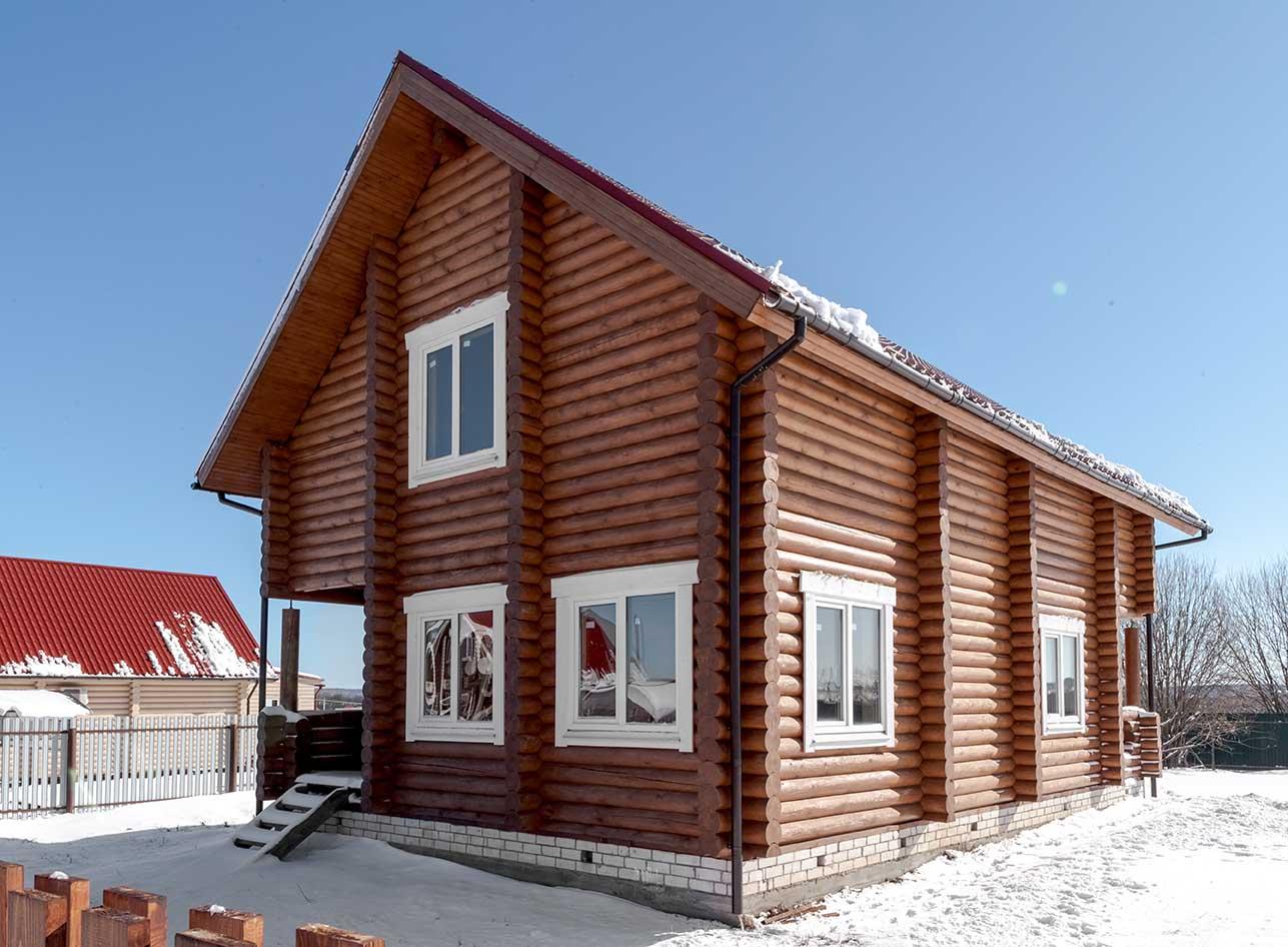 дом деревянный, каменские холмы