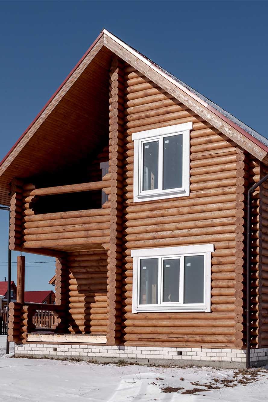 дом деревянный, дом деревенский