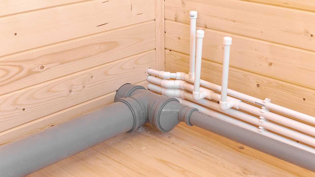 проводка в доме, канализация, вода, трубопровод