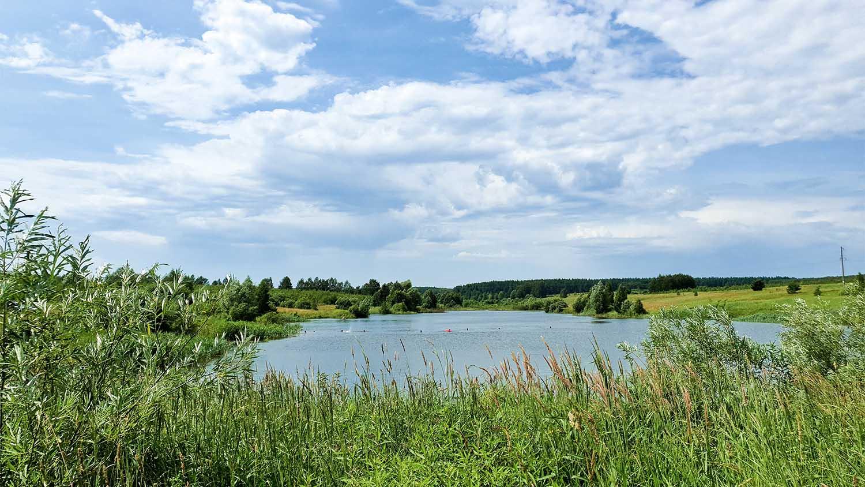 каменские холмы, дома у озера, купить дом у озера