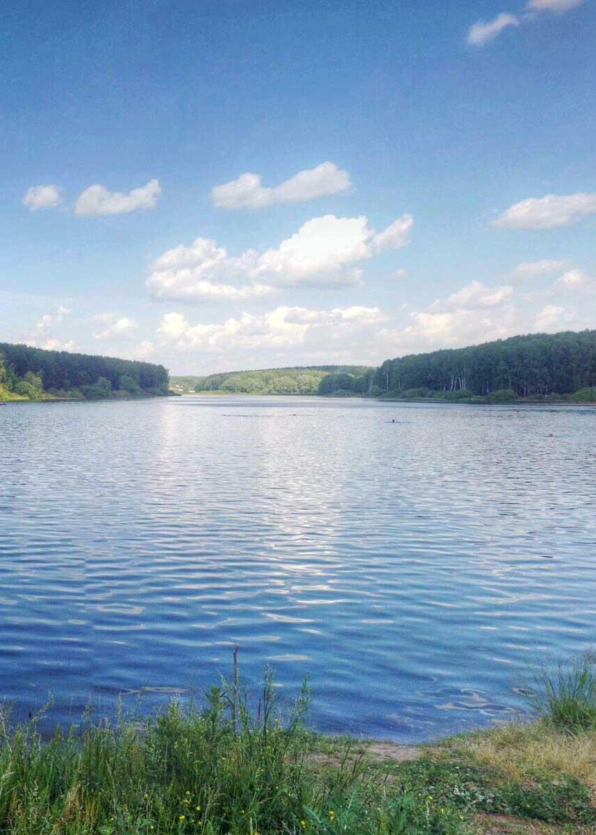 Березовское озеро, Шумиловское озеро Богородский район