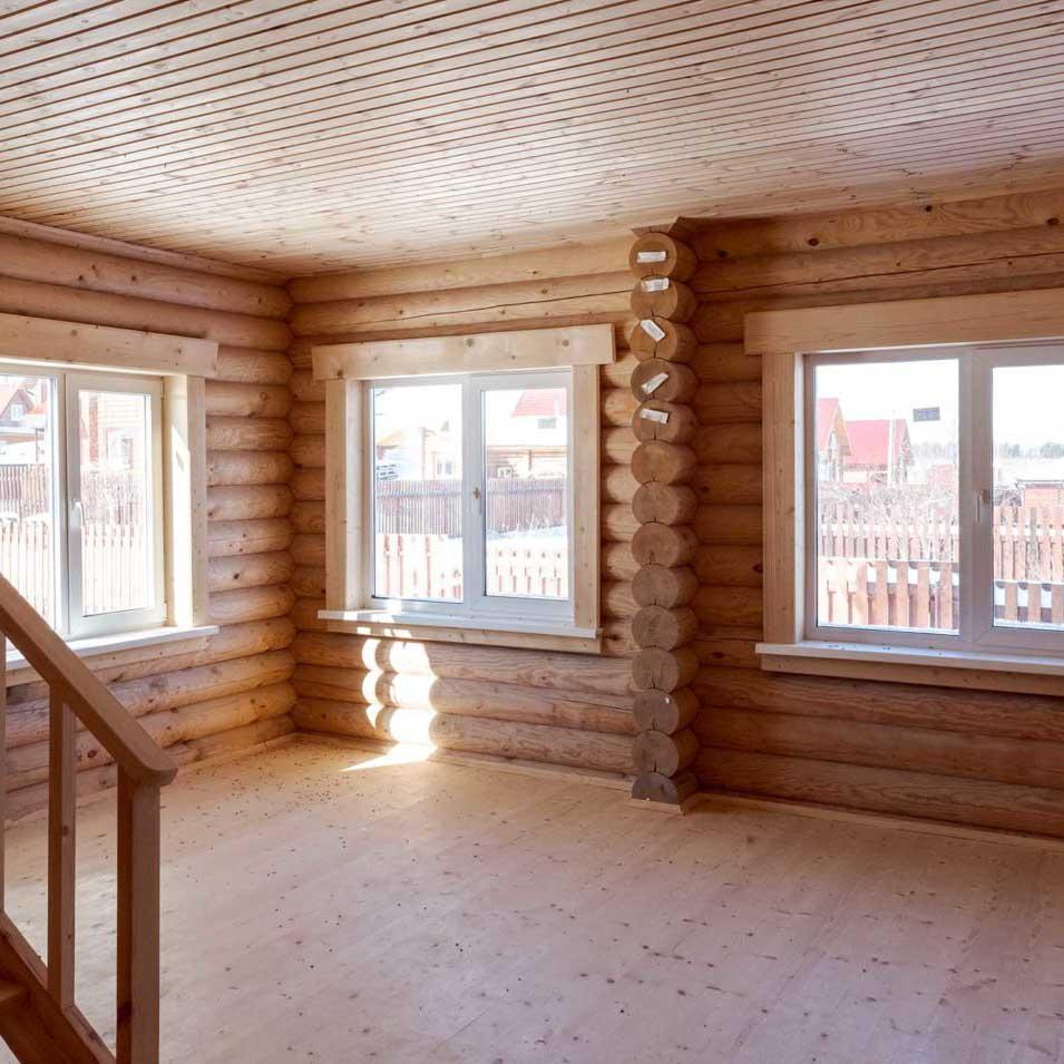 новый деревянный дом