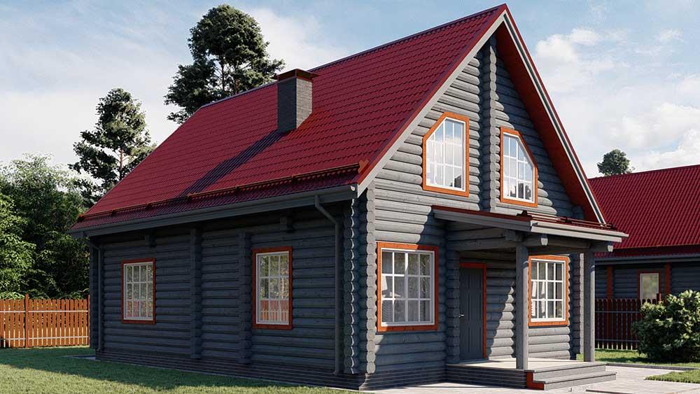 Проект дома ветлуга